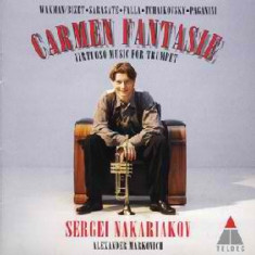 Carmen Fantasy - Virtuoso Music for Trumpet Sergei Nakariakov - Muzica Clasica warner, CD