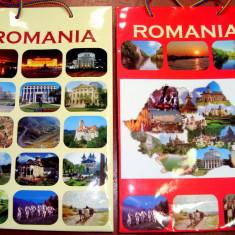 Agenda scolara - PC S Set de 10 Pungi Cadou - Medie (26x17x7 cm) - Model Romania