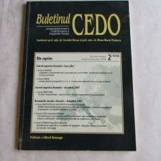 14Cd-BULETINUL CEDO nr.2/2008 - Carte CEDO