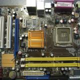 Kit placa de baza ASUS + CPU E5700 cu garantie, Pentru INTEL, LGA775, DDR2, Contine procesor, MicroATX