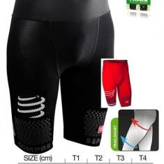 Compressport Racing Trail Running Short T3, Culoare: Negru, Marime: Alta, Pantaloni scurti, Alergare
