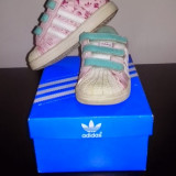 Adidas piele copii - Adidasi copii, Marime: 22, Culoare: Din imagine, Fete