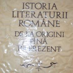 G.CALINESCU -ISTORIA LITERATURII ROMANE DE LA ORIGINI PINA IN PREZENT 1982 - Studiu literar