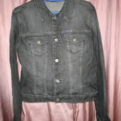 Geaca jeans Diesel gri - Geaca barbati Diesel, Marime: S/M, S/M, Bumbac