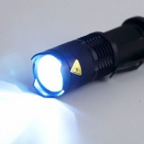 Mini Lanterna 300 Lumeni CREE Q5 LED ZOOMABLE Flashlight