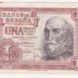 (1) BANCNOTA SPANIA - 1 PESETA 1953 (22 IULIE 1953)