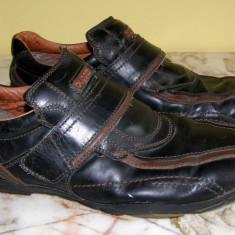 Pantofi barbati marca Bugatti piele marimea 44 locatie raft ( 33 / 1 ), Marime: 44, Piele naturala, Coffee