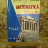Manual Clasa a IX-a, Alte materii - Mihaela Singer - Matematica manual pentru clasa a IX a