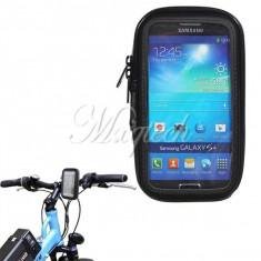 Suport telefon bicicleta - Suport bicicleta motocicleta impermeabil Waterproof Samsung Galaxy S3 i9300