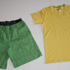 Pijama/Lenjerie de casa Ralph Lauren masura S si M - Pijamale barbati, Marime: S, M, Culoare: Verde