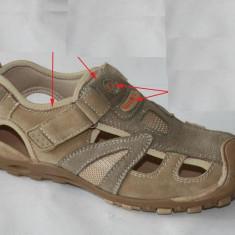 Sandale piele sport -baietii SM 698-1 WINK - Sandale copii Wink, Marime: 31, 32, 33, 34, 36, 38, Culoare: Maro, Maro
