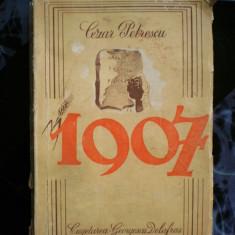 Cezar Petrescu -1907 - Carte Editie princeps