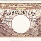 Bancnota 2000 lei 18 noiembrie 1941, filigran Traian, VF++