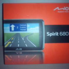 Gps Mio Technology MIO SPIRIT 680, 5 inch, Europa de est, Lifetime, Comanda vocala: 1, Sugestii multiple de cai: 1
