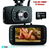 Camera Video DVR Auto, Full HD 1080P + Card 8GB, Night Vision, Senzor Miscare