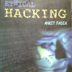 HACKING GHIDUL NEOFICIAL AL HACKING-ULUI ETIC ( lb engleza) UNOFFICIAL GUIDE TO ETHICAL HACKING de ANKIT FADIAn - Carte despre hacking