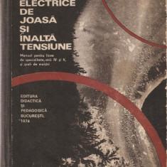 AUREL POPA - APARATE ELECTRICE DE JOASA SI INALTA TENSIUNE { 1974, 419 p.}, Trei