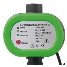 Presostat electronic, automatizare hidrofor, controler pompa marca Grizzly Tools