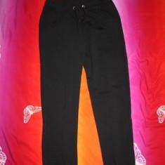 Pantalon trening bumbac unisex negru nou - Trening dama