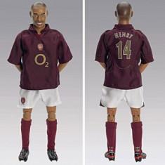 Figurina fotbalist -Papuse Fotbalist FC.ARSENAL Thierry Henry 2006, Kick-o-mania.