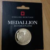 Medalion Stonegenge - Placat Aur, Europa
