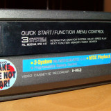 VIDEO PLAYER / RECORDER VHS Made in Japan / pentru piese - DVD Recordere