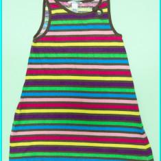 DE FIRMA _ Rochie bumbac, frumoasa, practica, H&M _ fetite | 5 - 6 ani | 116, Culoare: Multicolor