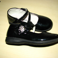Pantofi fetite, marime 28, eleganti - Pantofi copii, Culoare: Negru, Fete