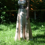 Rochie de ocazie - Rochie de seara, Marime: 36, Culoare: Auriu, Auriu
