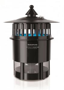 Aparat anti tantari TAURUS - MOSQUITO HUNTER (Aria de acoperire 800 mp- 2 lampi UV - ventilator aspirator - container colector insecte) foto
