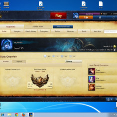 Vand cont league of legend - Jocuri PC Ea Games, Toate varstele, Multiplayer