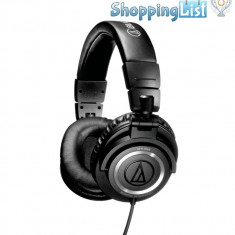 Casti DJ - Casti Audio-Technica ATH-M50 ~ ShoppingList, Vanzator Premium din 2011 ~ Produsul se comanda din SUA. Livrare in cca 10 zile lucratoare.