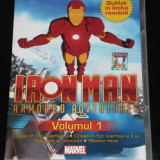 Film animatie, DVD, Romana - Iron Man Armored Adventures - DVD Desene Animate Dublate Romana Omul de fier Vol Volumul 1