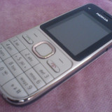 Vand Nokia C2 - Telefon mobil Nokia C2-00, Argintiu, 4GB, Orange, Single SIM, Fara procesor