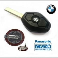 Baterie Cheie BMW Panasonic VL2020 pt E36 E46 E39 E60 E38 E65 E66 M3 M5 Z3 X5 - Carcasa cheie