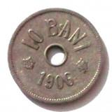 G5. ROMANIA 10 BANI 1906 J ** - Moneda Romania