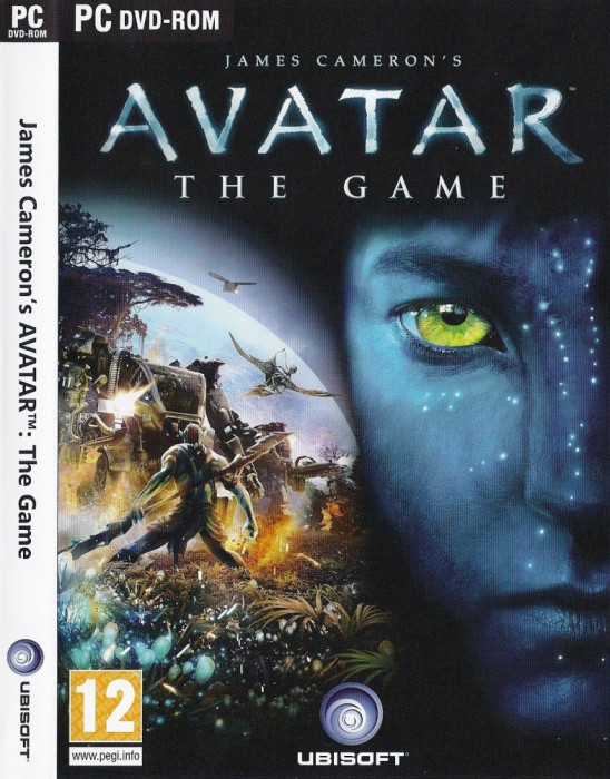 Обложка игры James Cameron's Avatar: The Game.
