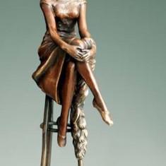 STATUETA BRONZ SEMNATA CHIPARUS - sculptura reproducere