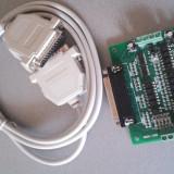 Electrocasnice - BOB Interfata LPT cu protectie prin optocuploare pentru CNC