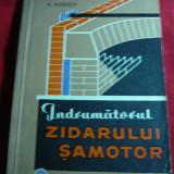 V.Nitescu - Indrumatorul Zidarului Samotor - Ed. Tehnica 1965 - Carti Constructii
