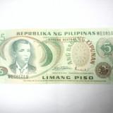 BANCNOTA - FILIPINE - 5 PISO