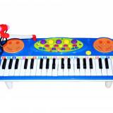 Instrumente muzicale copii - Oraga electronica pentru copii cu jocuri de lumini si microfon functional