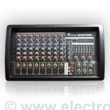 Mixere DJ - MIXER AMPLIFICAT M808 USB 2X150W