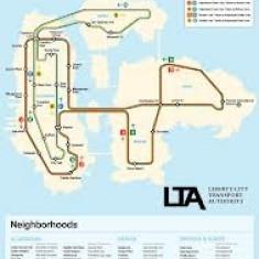Poster Liberty City map - Afis
