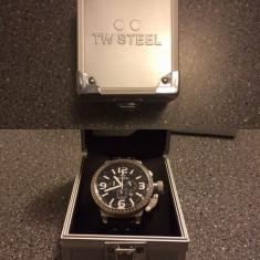 TW STEEL TW9 - Ceas barbatesc TW Steel, Piele
