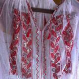 IE populara lucrata manual, zona Olteniei - Costum populare, Marime: Marime universala, Culoare: Alb