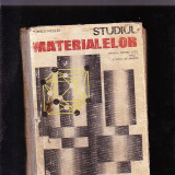 STUDIUL MATERIALELOR [ MANUAL PENTRU LICEE ANUL 1 SI SCOLI DE MAISTRI0
