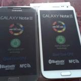 Telefon Mobil Samsung Note 2 / N7100 Alb si Negru
