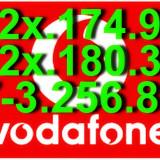 CARTELE - NUMERE - AUR_VIP_PLATINA_GOLD_SPECIALE_CARTELA_MINI-SIM_VODAFONE_1 NUMAR_FAVORIT___ 072x.174.950___072x.180.381___07-3.256.840 ___8__LEI__NR - Cartela Vodafone