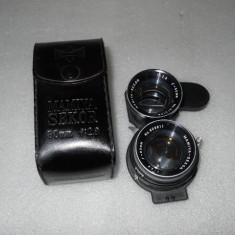 VAND OBIECTIV MAMYIA - SEKOR 2, 8 f=80mm NOU - Aparat Foto cu Film Mamiya